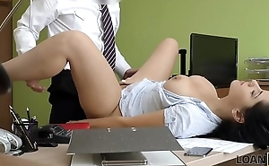 LOAN4K. The hottest Alex Black with a horny manager