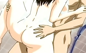 Big Tits Anime Mom Being fucked Hard in Shower