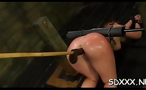 Frisky lady gets spanked and experiences some coarse sex