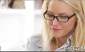 Chubby sweetie goes mad from rear fuck and sexy pinches