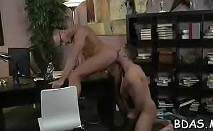 Alone and horny, juvenile lad decides to suck teacher'_s dick