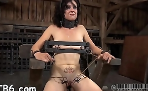 Brave beauty is getting kinky beating on her hot ass