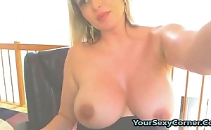 Pregnant Blonde Milf Fleshing Tits And Ass On Cam