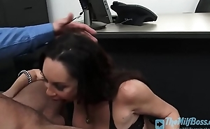 Busty Office Bitch Gets a Pounding