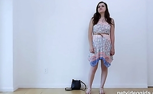 Newbie Learns A Lot During Her Calendar Audition