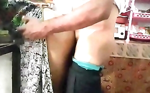 Desi couple real fucking in kitchen room with loud moaning 720p