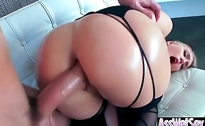 Anal Sex Tape With Big Oiled Round Butt Naughty Girl (AJ Applegate) mov-04