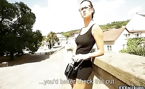 Talk about Dick Sucking With Amateur Euro Slut For Money 13
