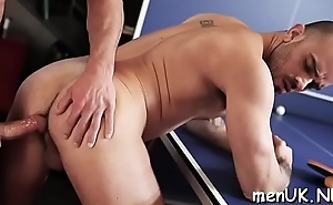 Exposed hunks love sharing their anal shag in private scenes