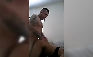 He puts her in her place, Fucks the shit outta her