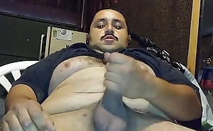 Solo Stroking Busting A Nut