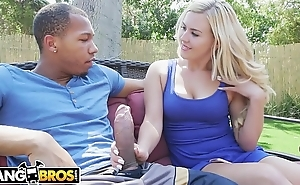 BANGBROS - Ricky Johnson Generously Donates His Big Black Dick To Summer Day