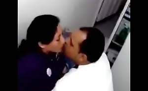 Amature fuck in office and some one took their sex video