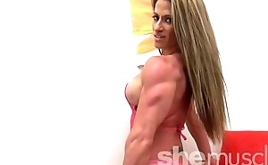Sexy Female Bodybuilder Shows Stay away from Perfect Body